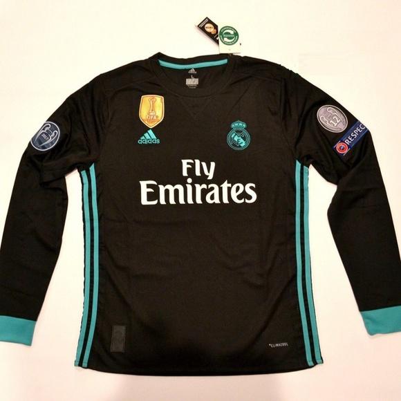 35a49fb4c76 Real Madrid Cristiano Ronaldo Long Sleeve 2017 18